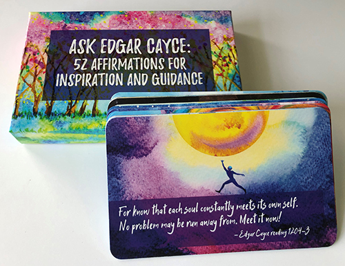 Ask Edgar Cayce: 52 Affirmations for Inspiration and Guidance