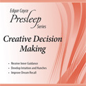 Creative Decision Making Presleep CD